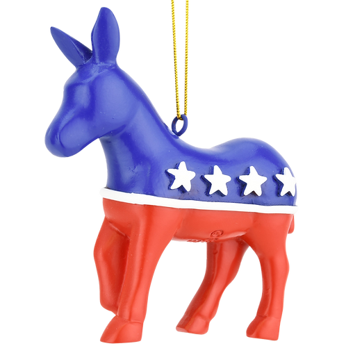 USA Presidential / Political Christmas Ornament  (Democratic Party)