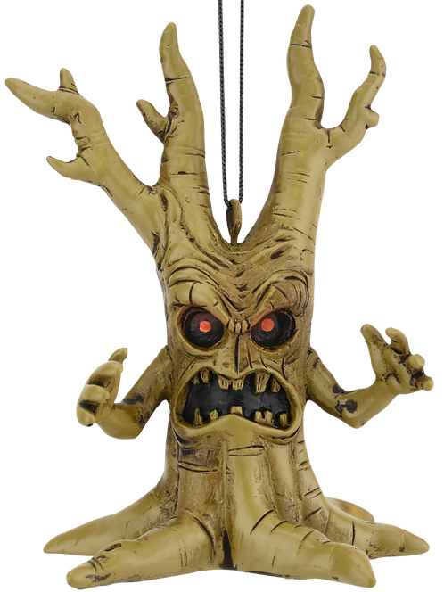Scary Tree Halloween Ornament
