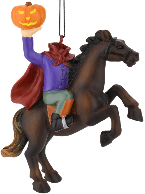 The Headless Horseman Halloween Ornament