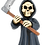 Thumbnail: The Grim Reaper Halloween Ornament