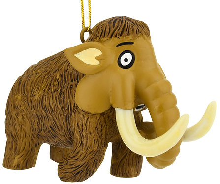 Woolly Mammoth Dinosaur Christmas Ornament