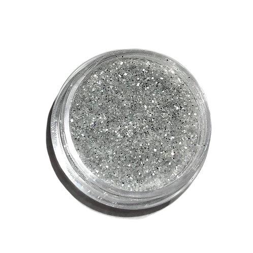 """Platinum Silver"" Glitter"