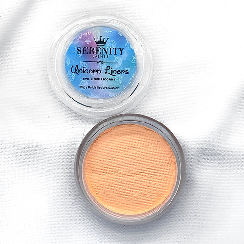 """""""Creamsicle"""" Water-Activated Unicorn Liners"""