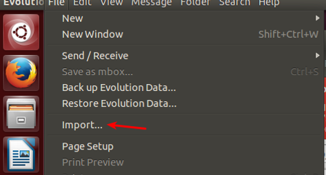Migrate from Thunderbird to Evolution without re-downloading IMAP mails