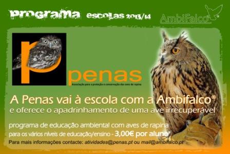 A Penas vai à escola com a Ambifalco
