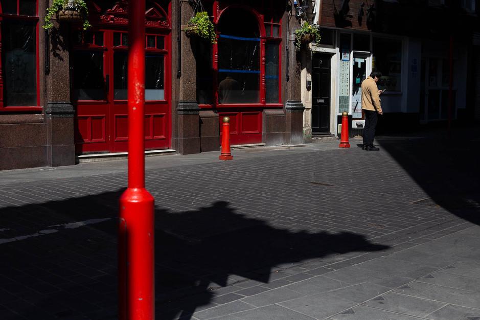 London Chinatown, April 2020
