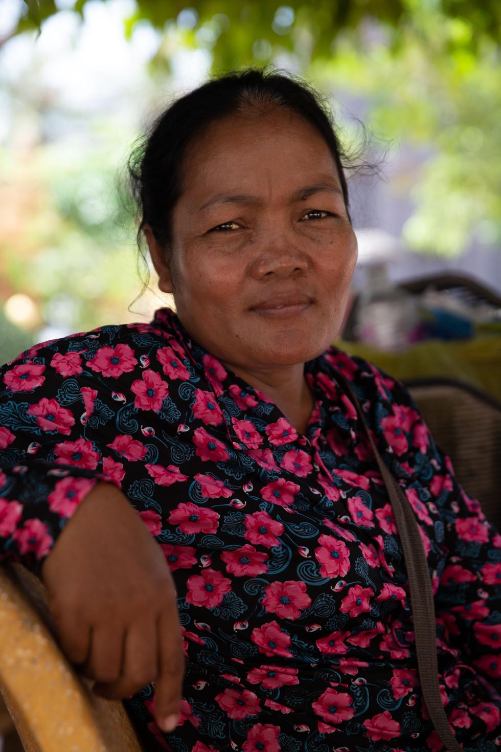 A Cambodian Vendor