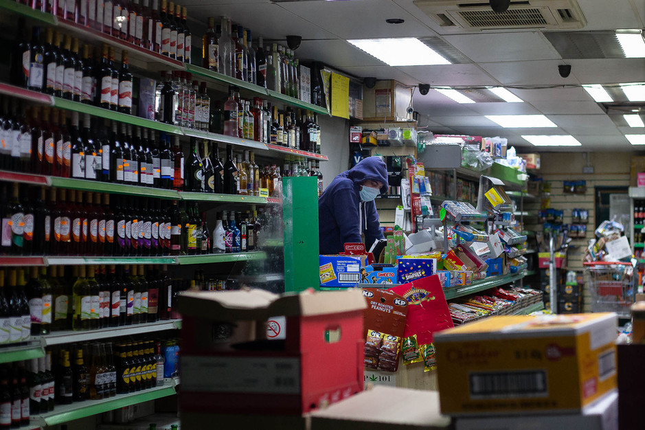 Worker, off licence