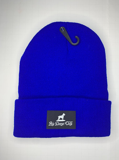 Blue Beanie BDO w/ Black Label