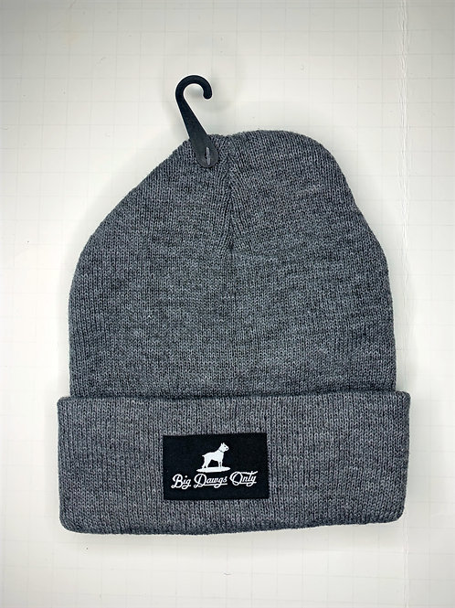 Grey Beanie BDO w/Black Label