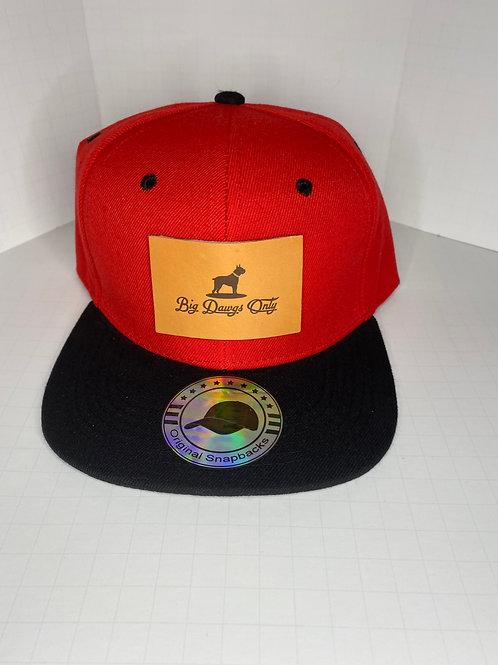 Snapback Black n Red 1