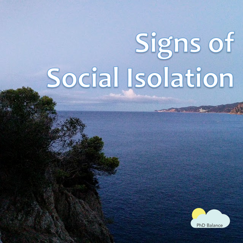 Are you socially isolating?