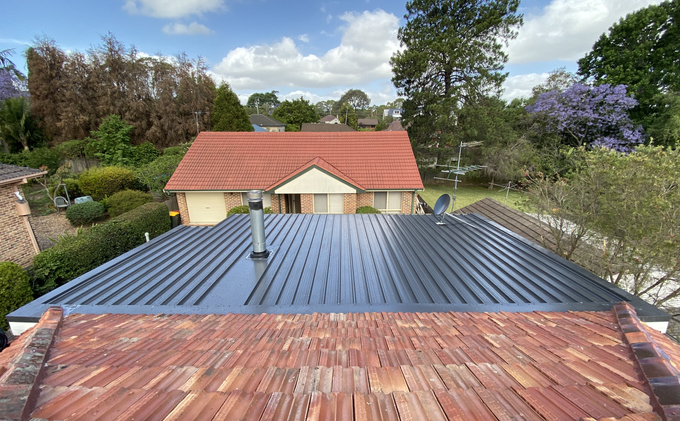 RUSTED METAL ROOF REPLACEMENT