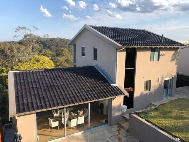 Terracotta Swiss Roof Cleaned
