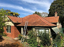 Mouldy Terracotta Roof