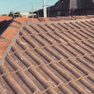 Roof Ridge Caps Pointing
