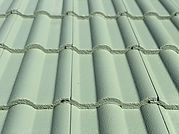 Concrete Roof Tiles After Painting