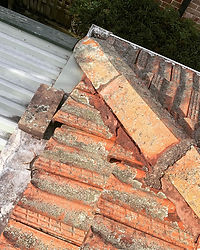 Damaged Roof Pointing