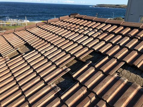 Concrete Roof Before Restoration