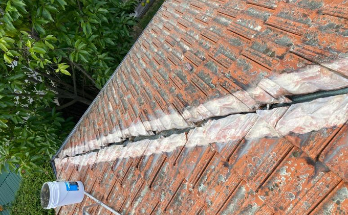 Roof Bedding And Pointing