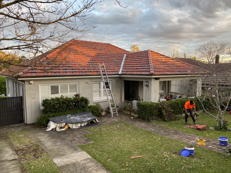 TERRACOTTA ROOF CLEANING AND VALLEY REPLACEMENT