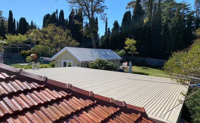 Flat Metal Roof Replacement