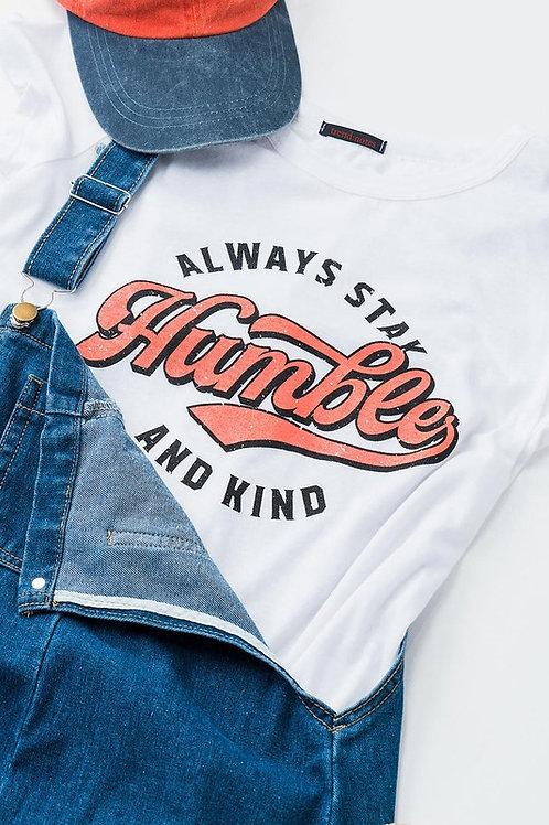 humble & kind graphic tee