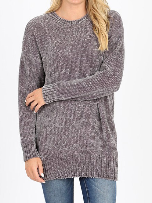 chenille crazy sweater