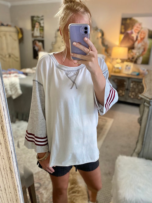 lazy girl top
