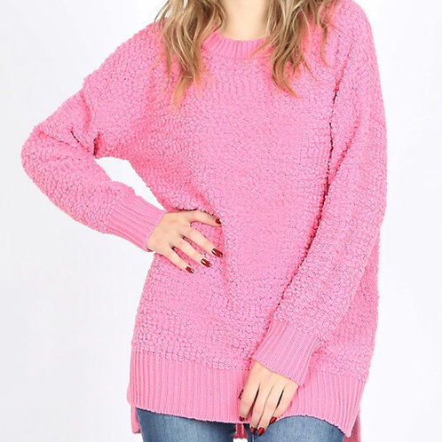 call me candy popcorn pullover