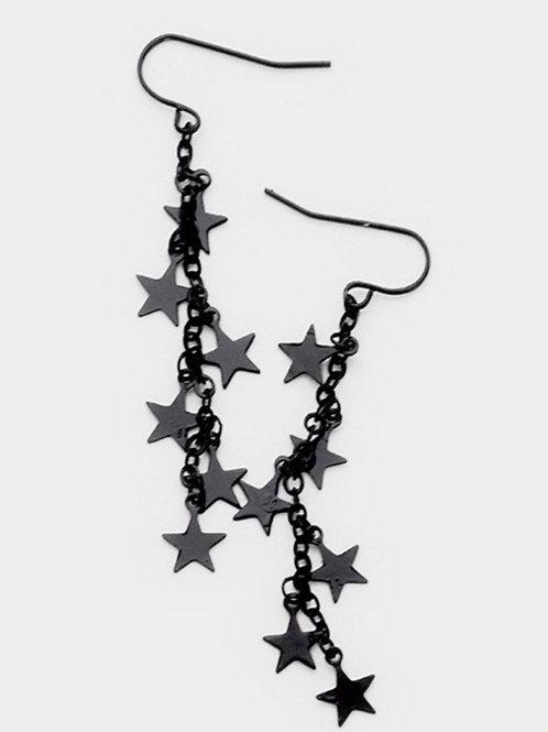 starry night ear rings