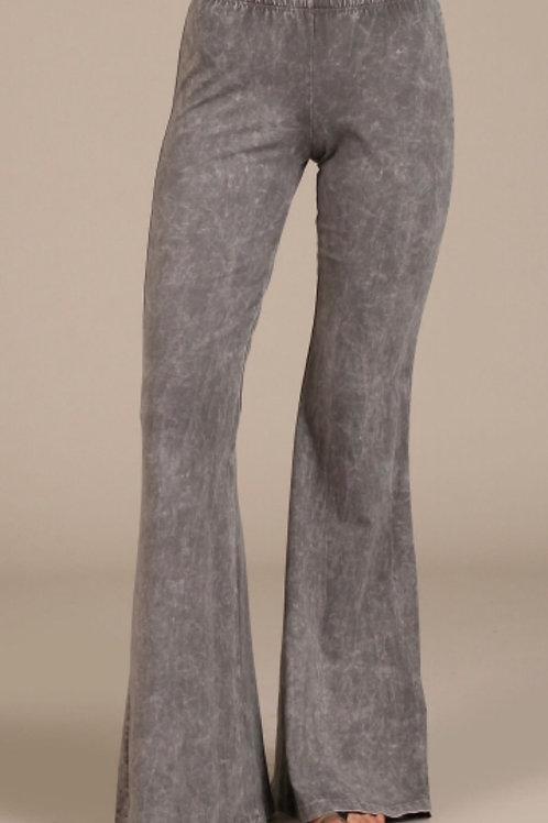 fab flare grey pants