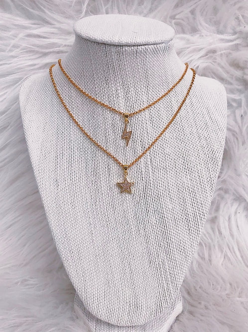 R&R decadent angel necklace