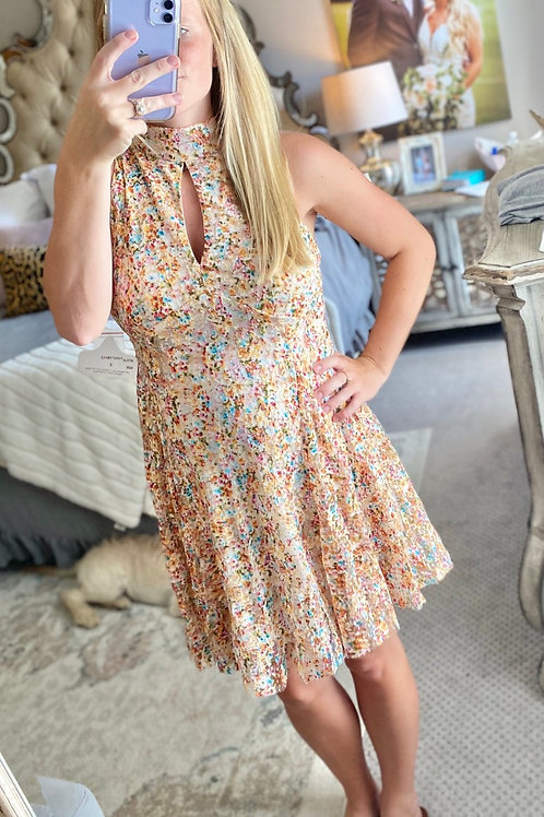 fruity pebble flower dress
