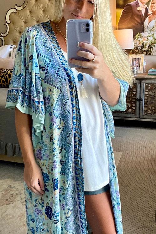 blue baby kimono