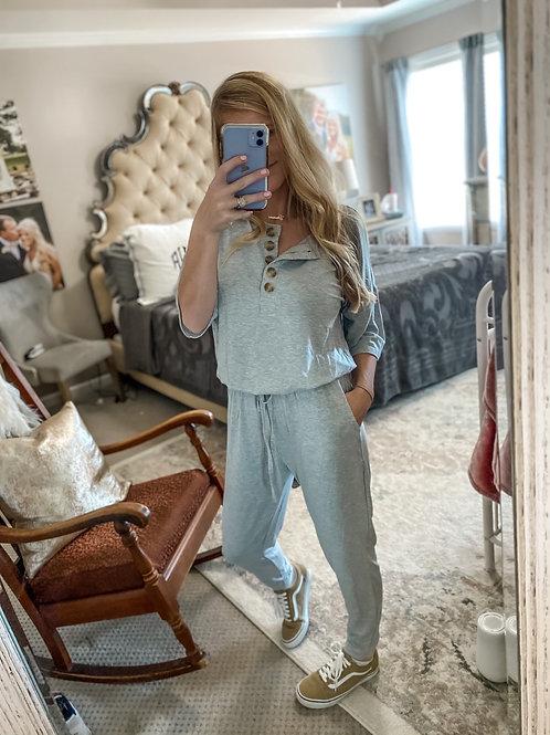 heather grey jumper