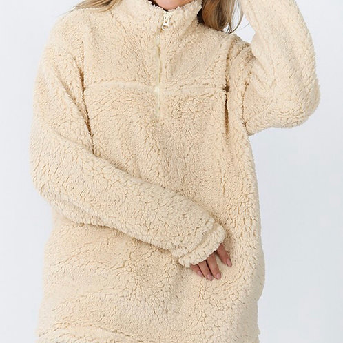 cozy cream pullover