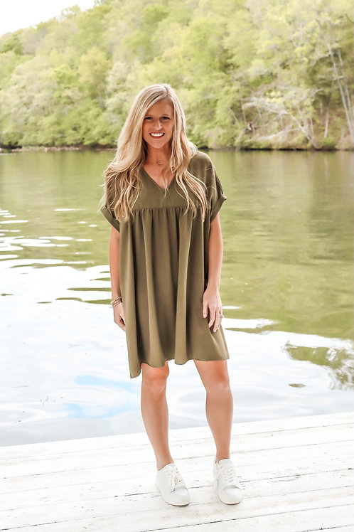 olive you lady dress/top