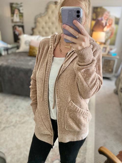 cozy chenille jacket
