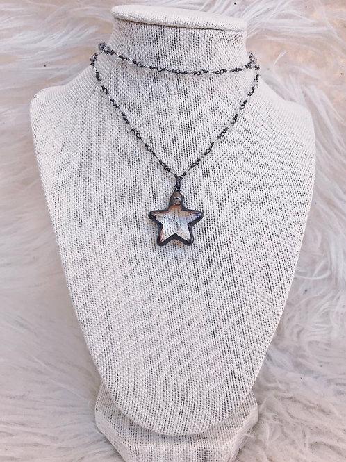 R&R double estrella necklace