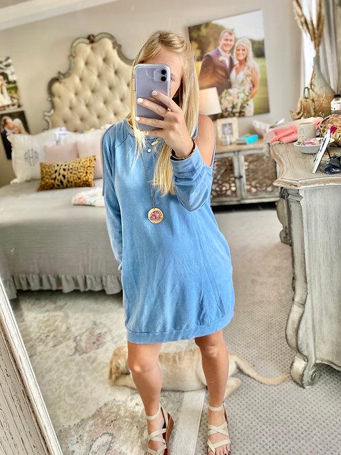 cold shoulder dress/top