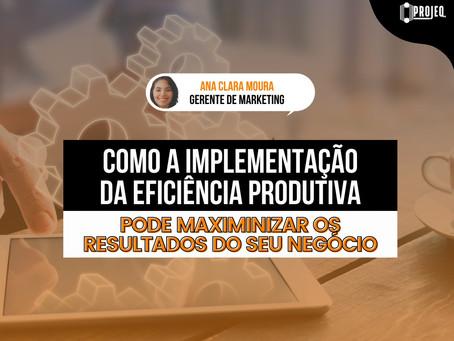 Como a implementação da eficiência produtiva pode maximizar os resultados do seu negócio