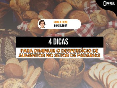 4 Dicas para diminuir o desperdício de alimentos no setor de padarias