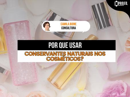 Por que usar conservantes naturais nos cosméticos?