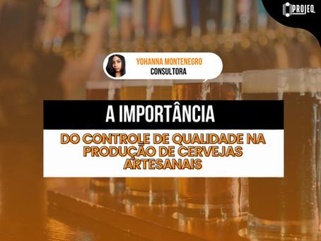 A  importância do controle de qualidade na produção de cervejas artesanais