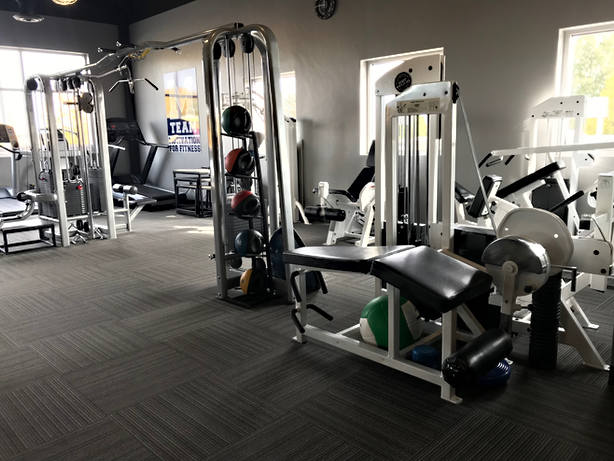 M Team fitness offers personal trainers for strength training, weight loss, injury rehab and sports traing.