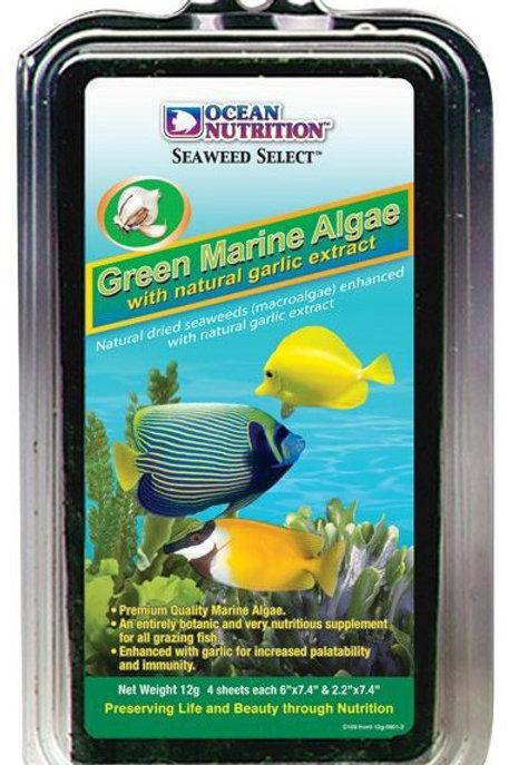 Ocean Nutrition Green Algae Bulk 50 Sheets