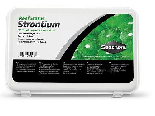 Seachem Reef Status Strontium (50 Tests)