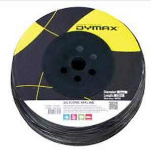 Dymax Black Silicone Tubing (200m)