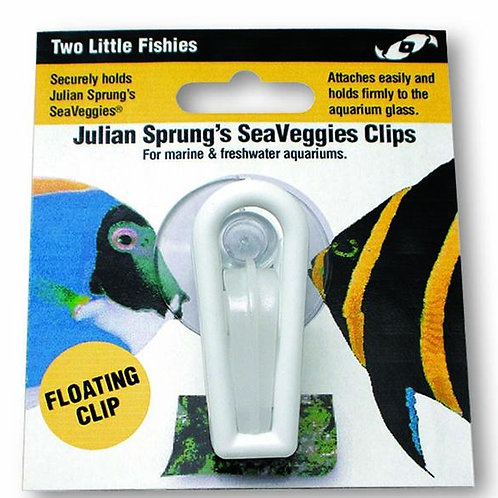 Two Little Fishies SeaVeggies Floating Clip
